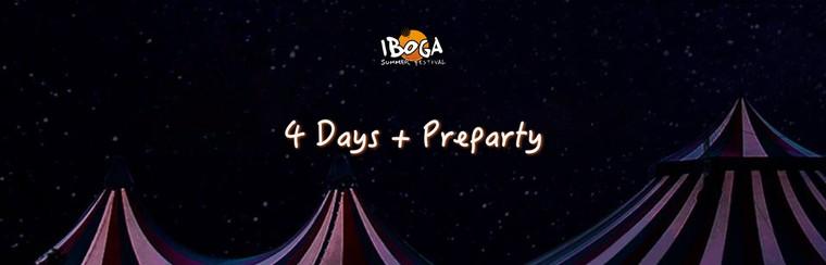 Pass 4 Days + Preparty