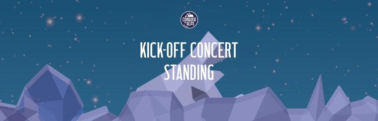 Standing Kick-Off Concert Ticket | Friday