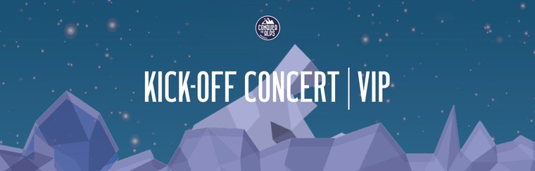 VIP Kick-Off Concert Ticket | Friday