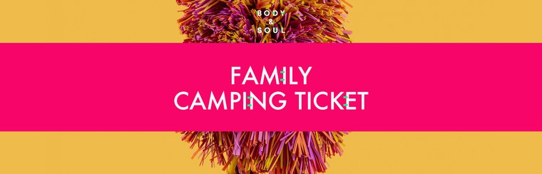Family Camping Ticket