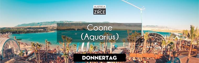 Thursday Ticket | Coone @ Aquarius