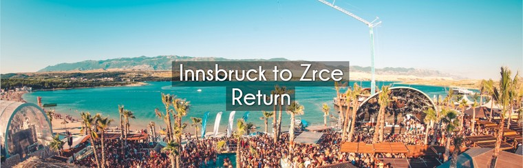 Innsbruck to Zrce Return Coach