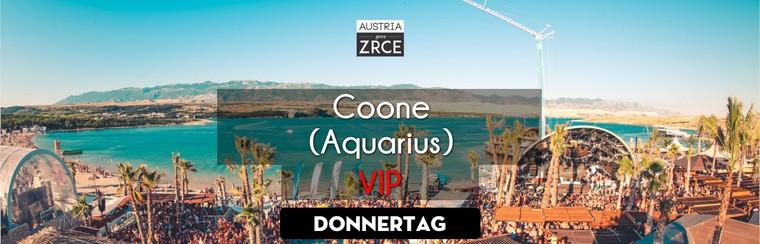 Thursday VIP Ticket | Coone @ Aquarius