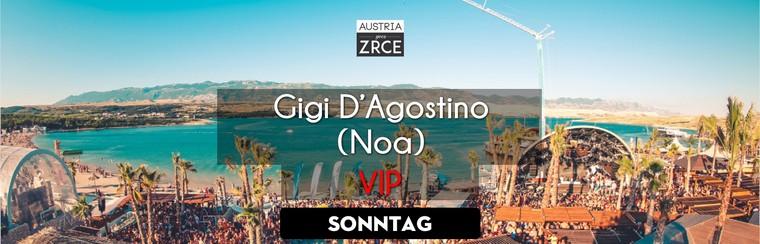 Sunday VIP Ticket | Gigi D'Agostino @ Noa