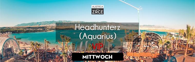 Wednesday VIP Ticket | Headhunterz @ Aquarius