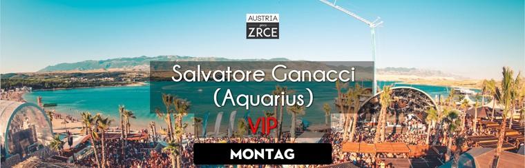 Monday VIP Ticket | Salvatore Ganacci @ Aquarius