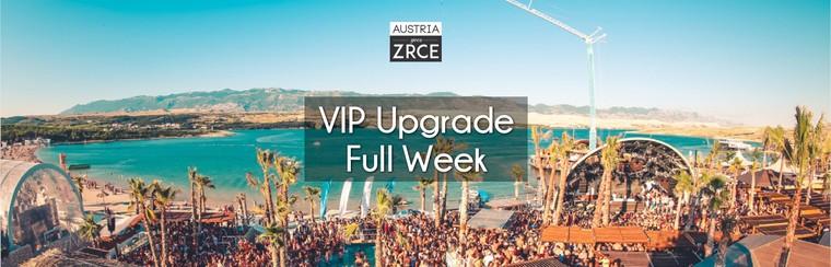 VIP Upgrade Full Week (20th-27th July)
