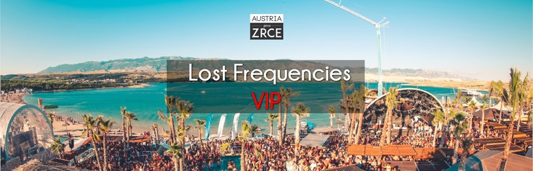 Wednesday VIP Ticket | Lost Frequencies