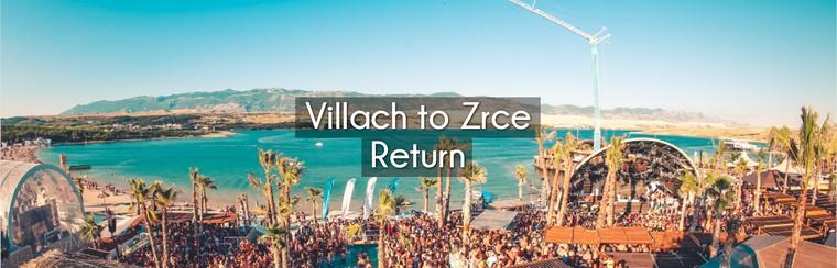 Villach to Zrce Return Coach