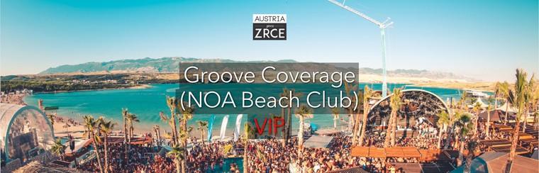Saturday VIP Ticket | Groove Coverage (NOA Beach Club)