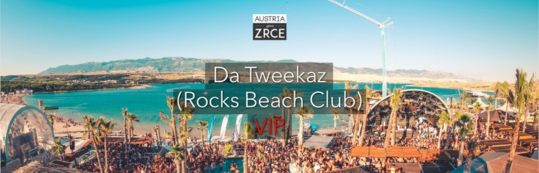 Friday VIP Ticket | Da Tweekaz (Rocks Beach Club)