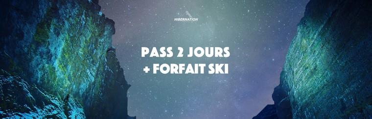 2 Days Pass + Ski Pass