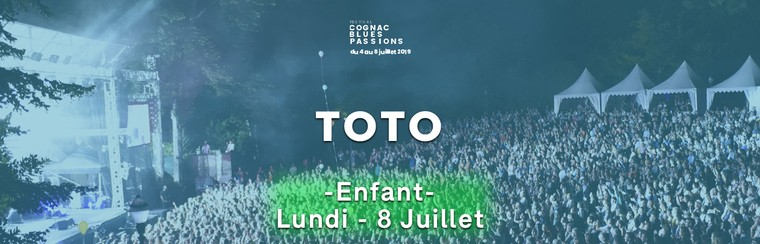 "Billet Enfant : TOTO + SLIM PAUL TRIO + ISAYA + THOMAS KAHN + ZAC HARMON ET TERRY ""HAMONICA"" BEAN"