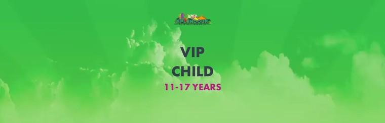 VIP Ticket | Child 11-17 Years