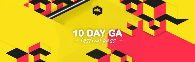 10-Day GA Festival Pass (30 May-8 Jun)