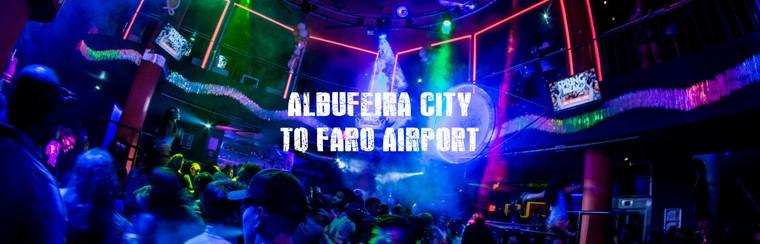 I'Way Transfer solo ida - Albufeira ciudad al aeropuerto de Faro