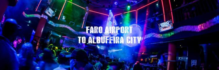 I'Way Transfer solo ida - aeropuerto de Faro a Albufeira ciudad