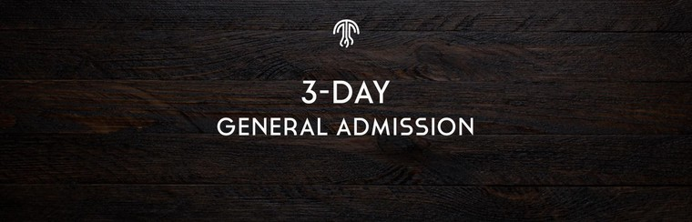 3-Day General Admission Ticket