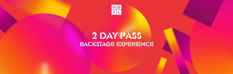 Backstage Experience: 2 Day Pass