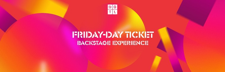 Backstage Experience: Friday Single-Day Ticket