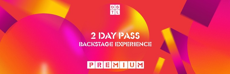 Backstage Experience Premium: 2 Day Pass