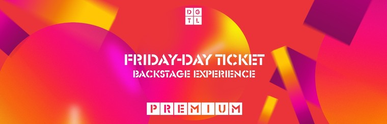 Backstage Experience Premium: Friday Single-Day Ticket