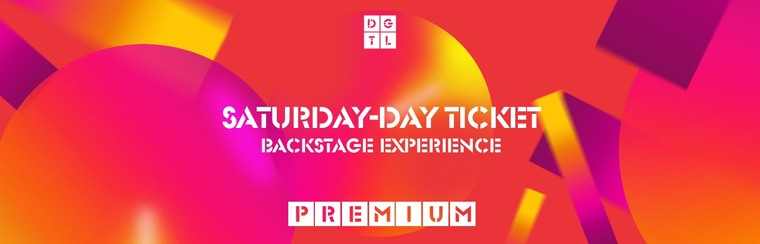 Backstage Experience Premium: Saturday Single-Day Ticket