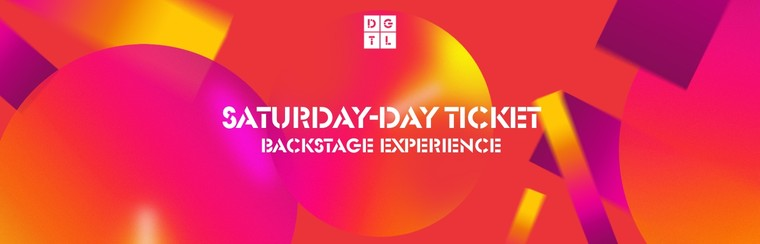 Backstage Experience: Saturday Single-Day Ticket