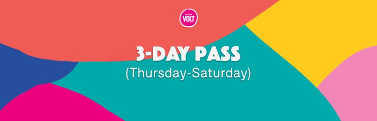 3-Day Pass (Thursday - Saturday)
