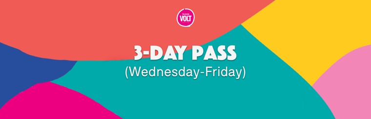 3-Day Pass (Wednesday - Friday)