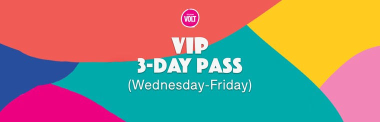 VIP 3-Day Pass (Wednesday - Friday)