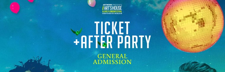 General Admission Ticket + After Party