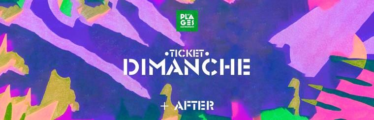 Billet Dimanche + Afterparty