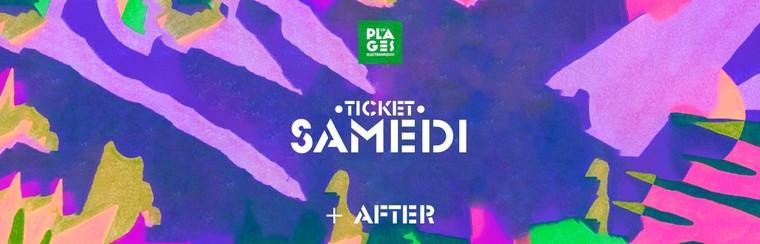 Billet Samedi + Afterparty