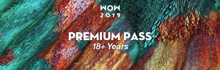 Premium Festival Pass (18+ Years)