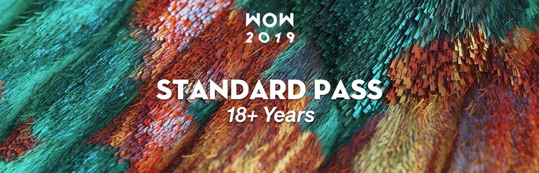 Standard Festival Pass (18+ Years)