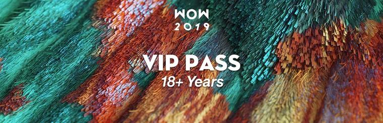 VIP Festival Pass (18+ Years)