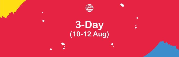 3-Tagespass 10. - 12. August