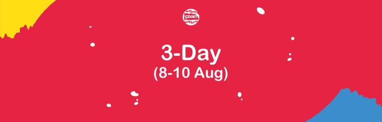 3-Tagespass 8. - 10. August