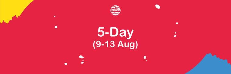 5-Tagespass 9. - 13. August