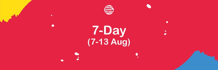 7-Tagespass 7. - 13. August