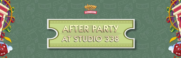 Official Afterparty Ticket at Studio 338