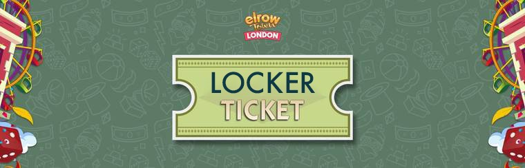 Locker Ticket