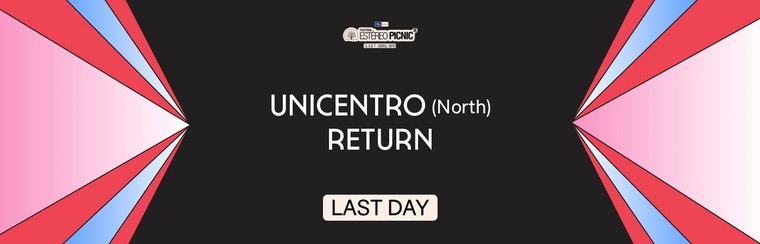 Unicentro (North) Last Day Return Coach Travel