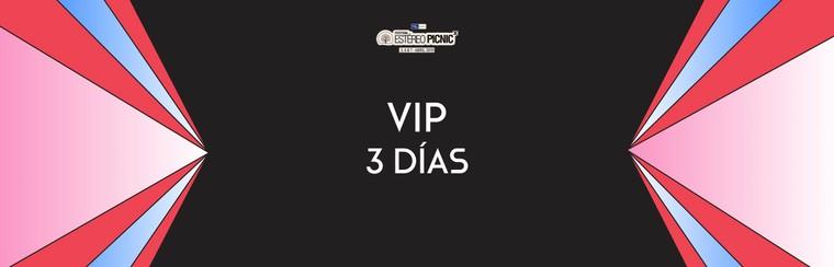 Abono VIP 3 días