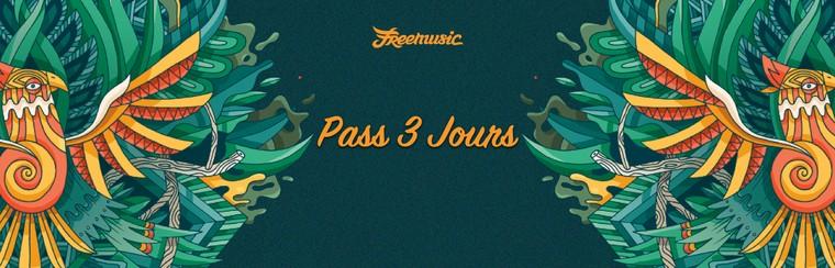3 Days Pass (Fri/Sat/Sun)