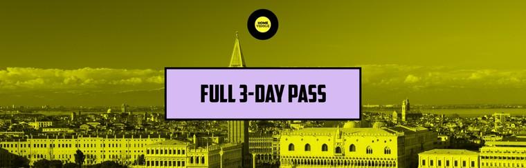 Full 3-Day Pass