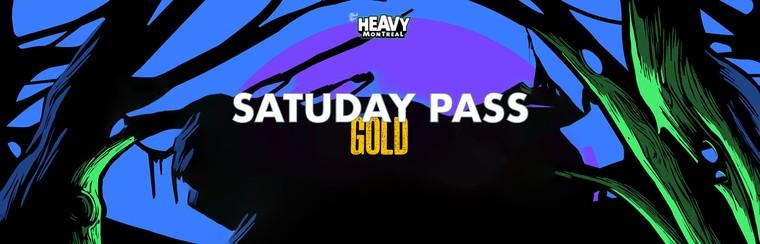 Saturday Pass - Gold