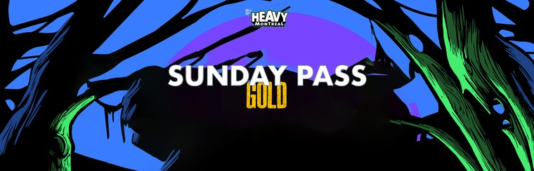 Sunday Pass - Gold