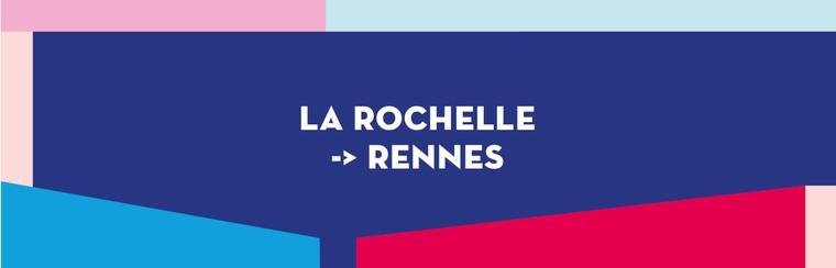 Einfache Busfahrt | La Rochelle nach Rennes